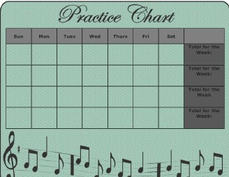 Record in Your Daily Practice Chart