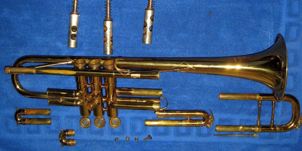 Main Parts of a Trumpet